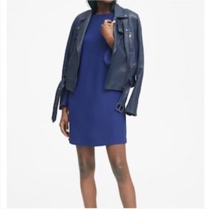 Banana Republic Royal Blue Shift Dress w/ Pockets